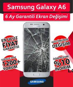 Samsung Galaxy A6 Ekran Değişimi Fiyatı