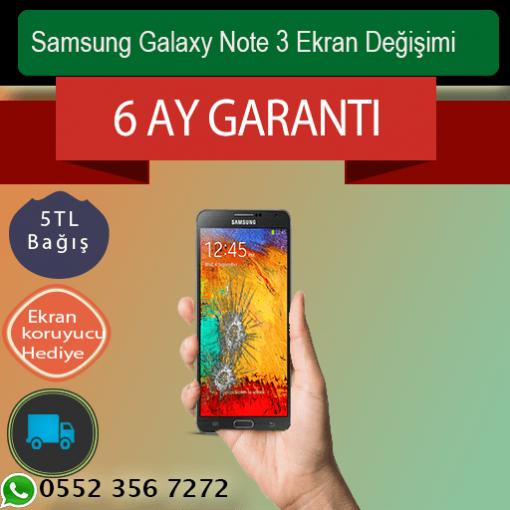 Samsung Galaxy Note 3 Ekran Değişimi