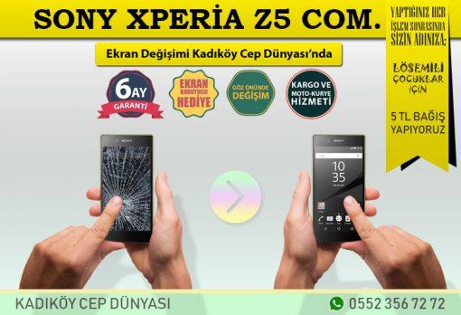 Sony Xperia Z5 Compact Mini Ekran Değişimi