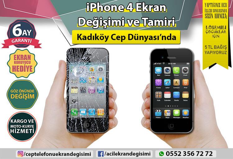 İphone 4 Ekran Değişimi - 99 TL