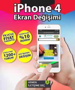 iphone 4 ekran değişimi hizmetimiz
