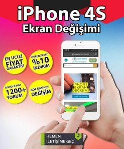 iphone 4s ekran değişimi hizmetimiz