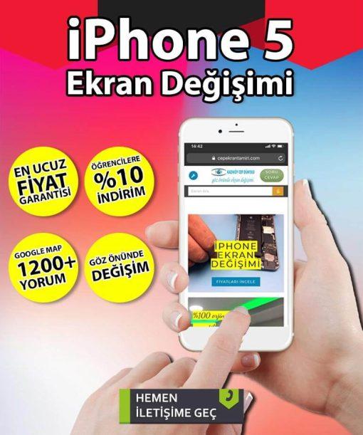 iphone 5 ekran değişimi fiyatı
