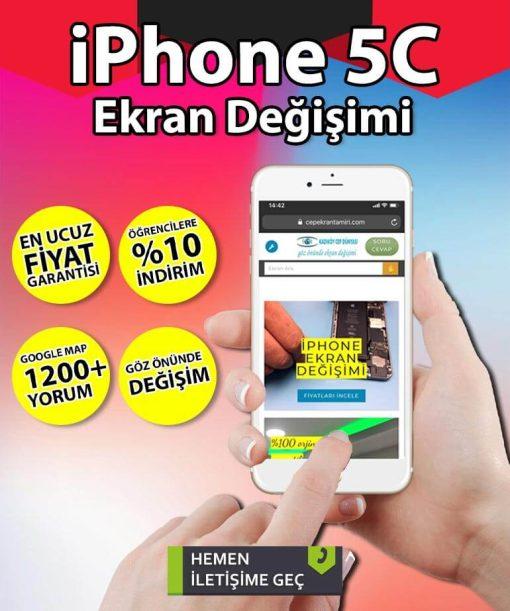 iphone 5c ekran değişimi fiyatı