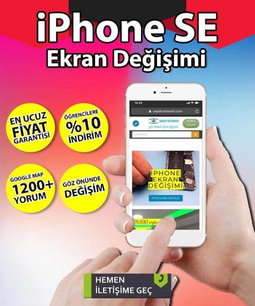 iPhone SE ekran değişimi fiyatı