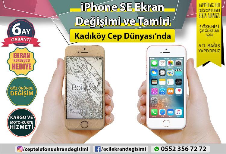 İphone SE Ekran Değişimi - 149 TL