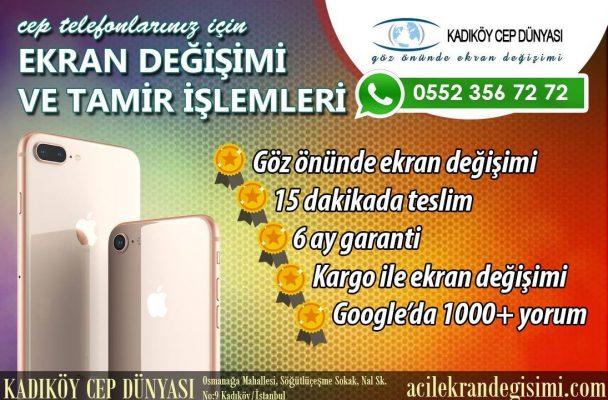 General Mobile GM8 Ekran Değişimi Kadıköy Cep Dünyası!