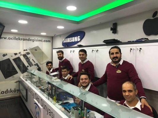 Alcatel Shine Lite Ekran Değişimi Kadıköy Cep Dünyası!