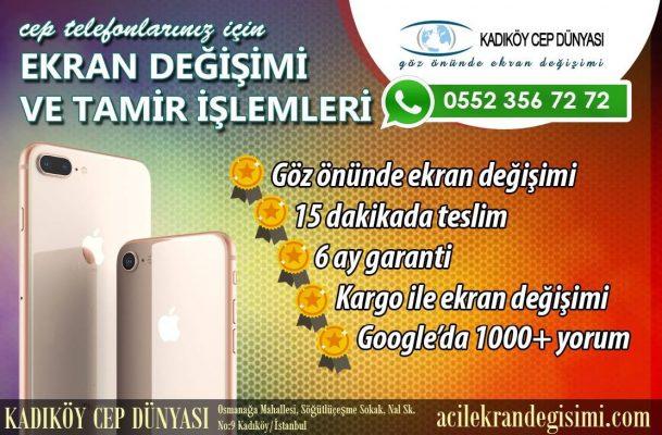 General Mobile 5 Plus Ekran Değişimi Kadıköy Cep Dünyası